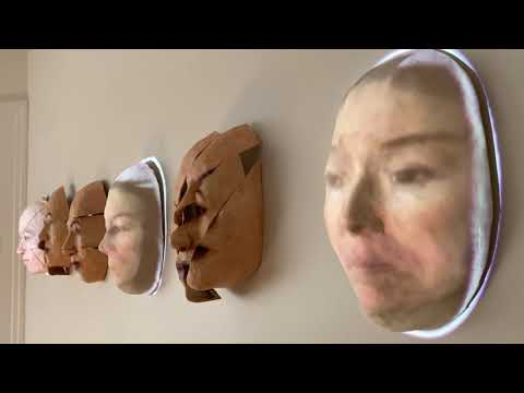 Self Portrait (Mask Projection Installation)