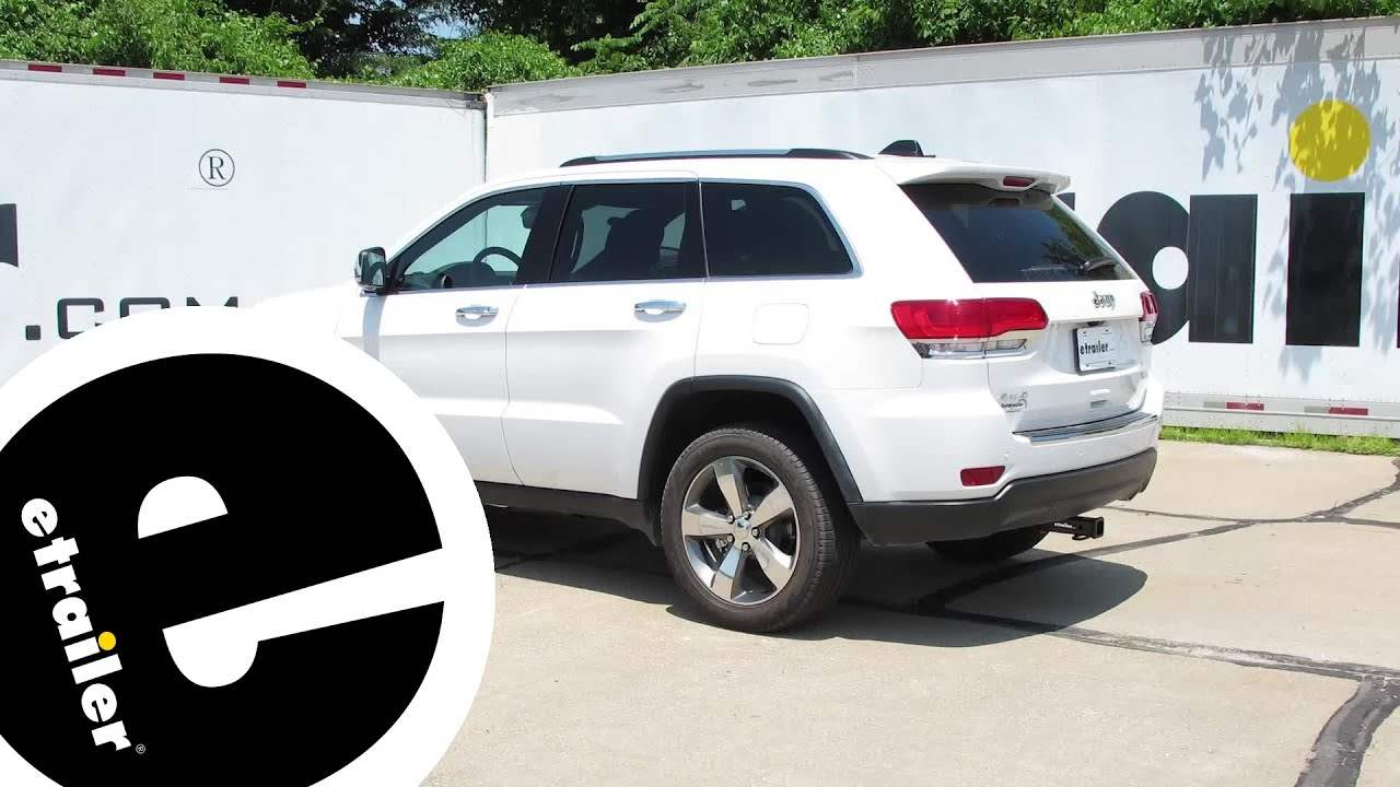 Trailer Hitch Installation - 2016 Jeep Grand Cherokee - Curt ...