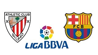 A que hora juega Athletic Bilbao vs Barcelona | Liga BBVA