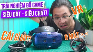 Đây Chính Là TƯƠNG LAI Của Game Thủ: Thực Tế Ảo   Đập Hộp Kính VR HTC Vive Cosmos