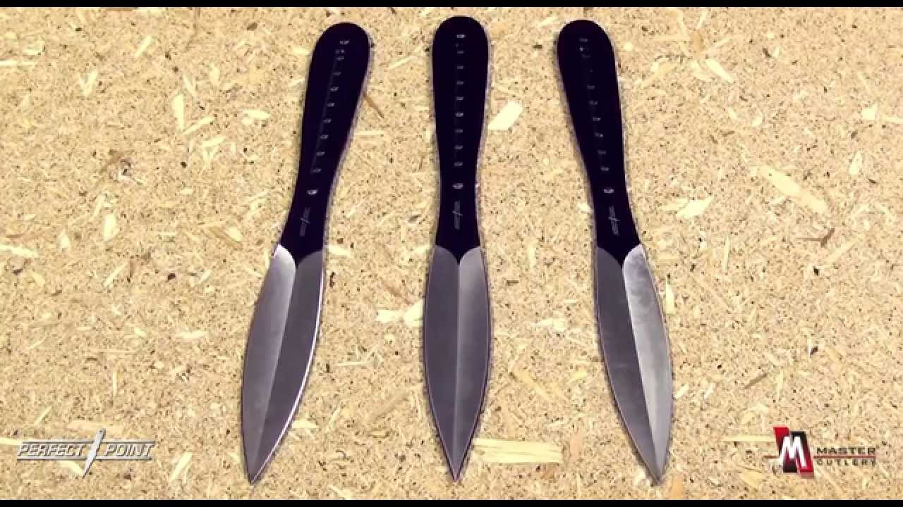 Perfect Point Tk 019 3 Throwing Knives Set Of 3 Product