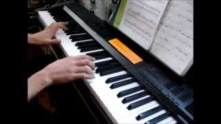 Space brothers 2 ending kokuhaku chorus piano cover with sheet music