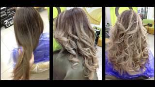 Балаяж на русые волосы. Балаяж и шатуш // Balayage on brown hair. Balayage and Shatush