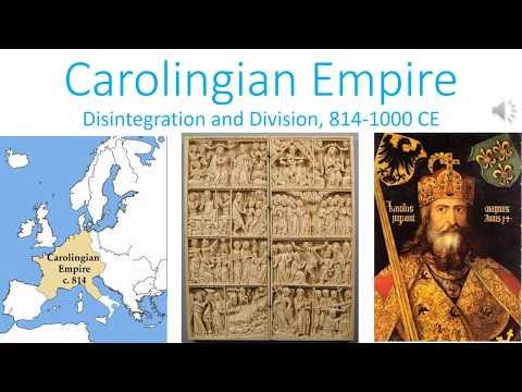 The Carolingian Empire: Disintegration and Division, 814-1000 CE