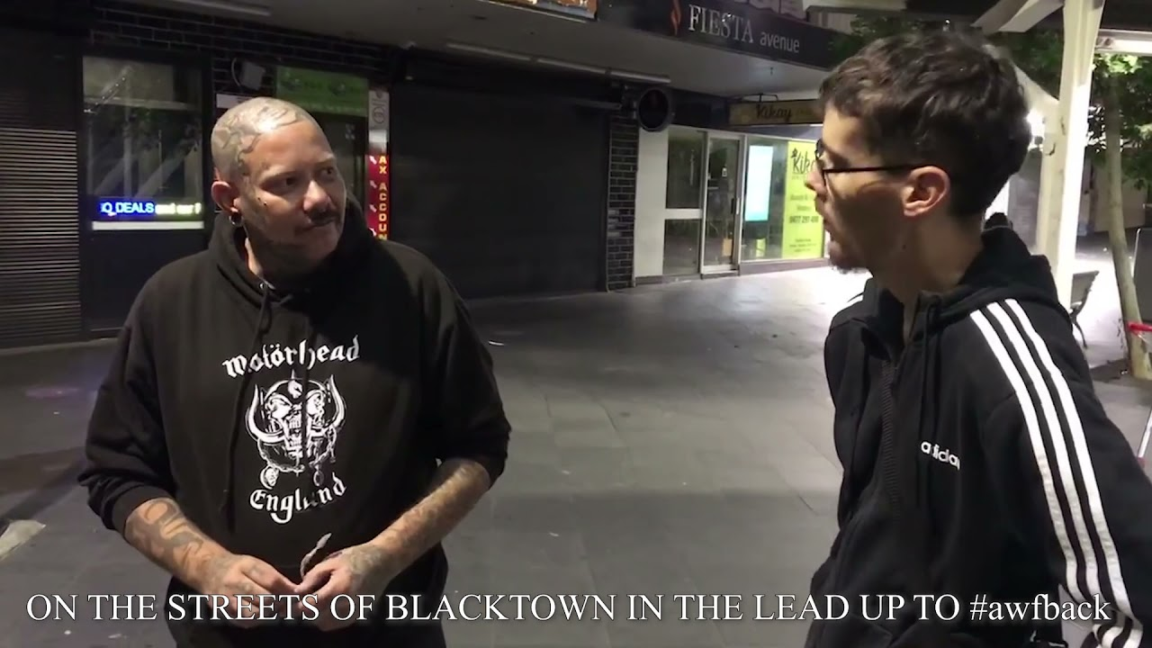 Warren Moon enlists The Brawler Blacktown for Street Fight for 9 April at AWF Back In Blacktown