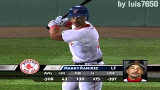 MVP Baseball 2005 | PC | Gameplay | Boston vs Texas