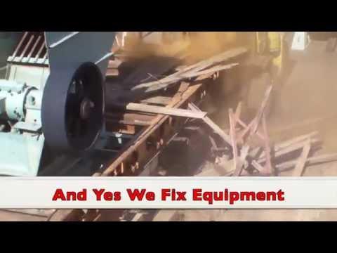 Heavy Equipment Fail - Jaw Crusher Destroys Trailer - Mining Equipment Fail