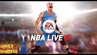 EA Sports NBA LIVE 16 XBOX ONE / PS4  Game! Gameplay and Review