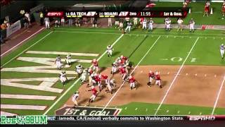hd game 2 miami hurricanes highlights vs ga tech 9 17 09 www keepvid com