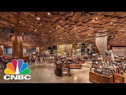 CNBC Tours Starbucks' Massive New Shanghai 'Coffee Wonderlan