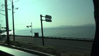 瑞風の車窓&車内放送ほぼノーカット 松江発車→西出雲到着 瑞風 検索動画 26
