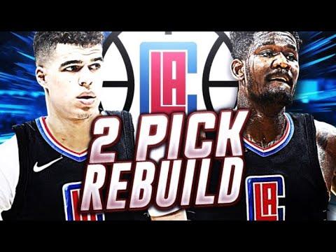 2 TOP PROSPECTS! LA CLIPPERS REBUILD! NBA 2K18
