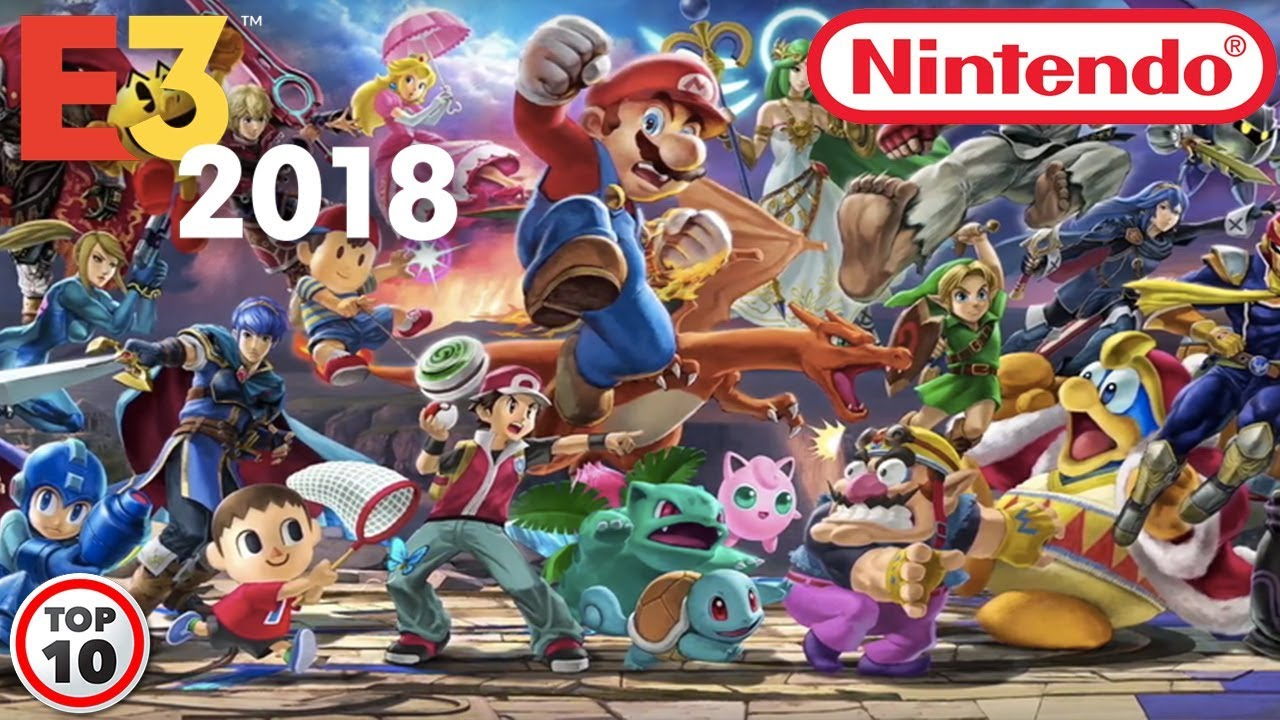 Super Smash Bros. Ultimate Release Date & Gameplay Revealed At E3 2018 Highlights