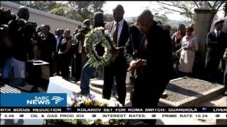Zuma questions Luthuli's 'mysterious' death
