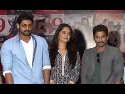 Rudramadevi Movie Press Meet | Anushka...