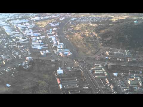 Landing Addis Ababa