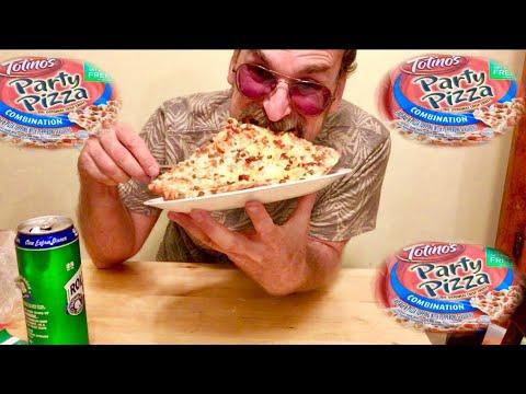 Totinos Party Pizza Review Mukbang