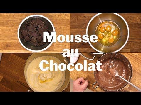 Mousse au Chocolat Rezept | Warum keine Werbung, Monetarisierung u.ä.
