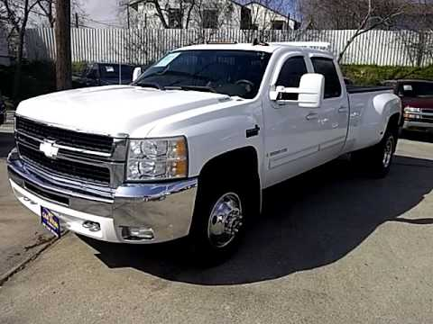 2009 Chevrolet 3500 Hd Western Hauler Dually Youtube