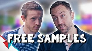 How not to give away free samples