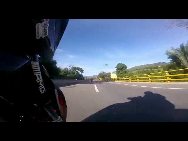 Accidente moto yamaha R1 Bogotá Villeta  - viletodromo