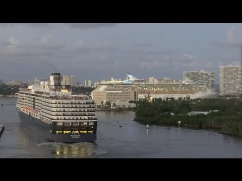 Fort Lauderdale, Florida - Independence of the Seas Departure HD (2013)