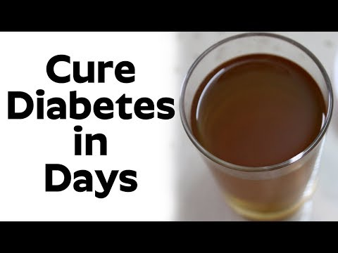 Cure Diabetes In Days | Only One Drink Cure Diabetes Forever