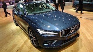 2019 Volvo V60 T6 - Exterior And Interior - Geneva Motor Show 2018