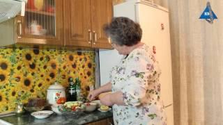 Весенний салат для похудения - рецепт