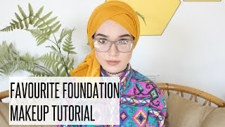 FAV FOUNDATION Tutorial ft EX1  | NABIILABEE
