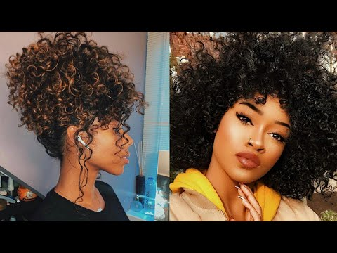 😍-curly-hair-tutorial-compilation-2019