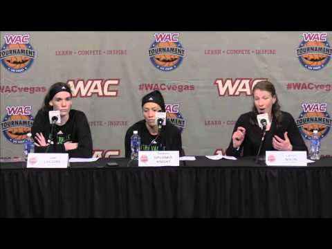 2015 WAC Basketball Tournament: Women