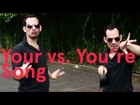 You're vs Your song