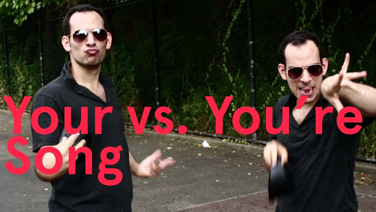 Your Vs You Re Song Song A Day