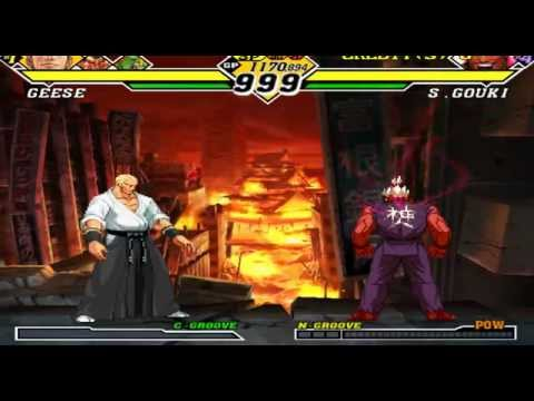 Capcom vs SNK 2 Playing Emulador Demul + All Roms Atomiswave,Naomi 1 e 2