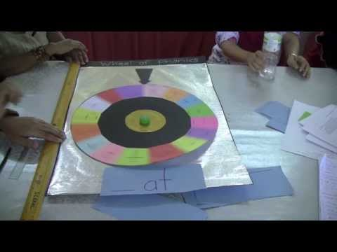 how to make a wheel of fortune-style phonics wheel - youtube, Powerpoint templates