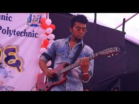 Jai Jai Maharashtra majha by Fireshots (Indian rock band) performing live at YTP college