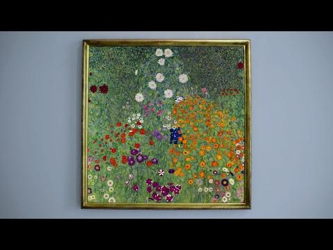 The Meditative Beauty Of Klimt's 'Bauerngarten'