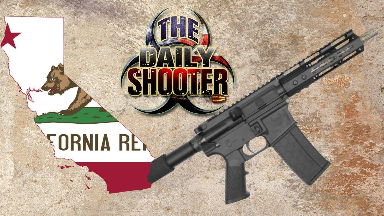 AR & AK Pistols in California July 1 Deadline
