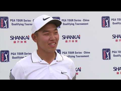 Jin Cheng wins Mainland China Q-School to get a full card for the 2018 PGA TOUR Series-China season