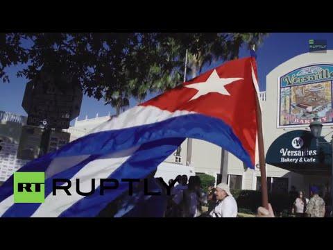 USA: Cuban Americans call US restoring Cuba ties 'betrayal'