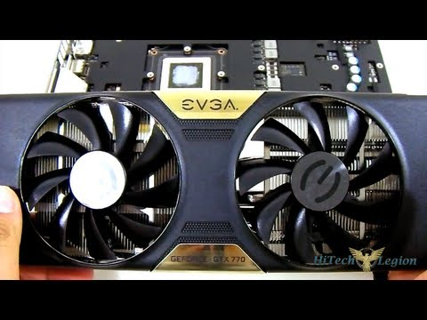 EVGA GeForce GTX 770 SC with ACX Cooler Video Card Unboxing + Review
