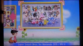 Super Smash Bros. for Nintendo 3DS / Wii U - Buscaestampas / Puzzle Swap