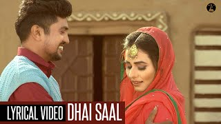 Dhai Saal Lyrical Inder Sufi Pooja Thakur Latest Romantic Songs New Songs 2019 Malwa