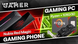 €450 Gaming Phone VS €450 Gaming PC   Nubia Red Magic review!