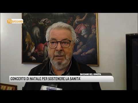 TG BASSANO (13/12/2018) - CONCERTO DI NATALE PER S...