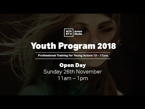 16th Street Actors Studio | Youth Program 2018