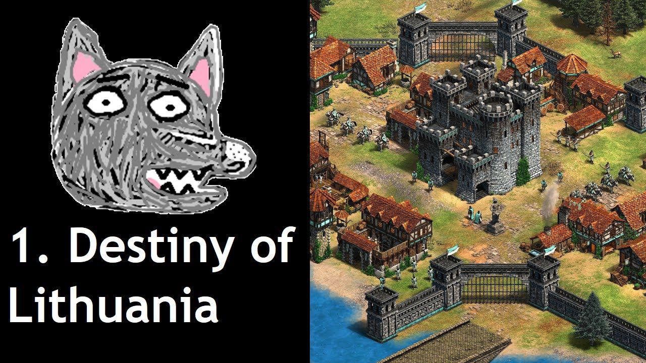 Download AoE2: DE Custom Campaign   Vytautas   1. The Destiny of Lithuania