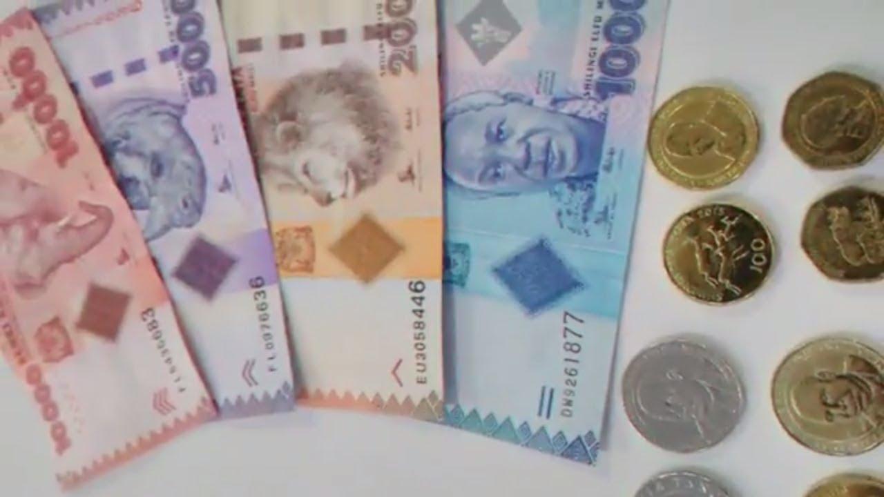 Currency Tanzania Shillings Tzs
