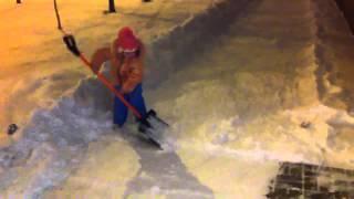 Снегоуборочный ребёнок